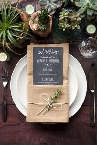 pocket napkin place settings