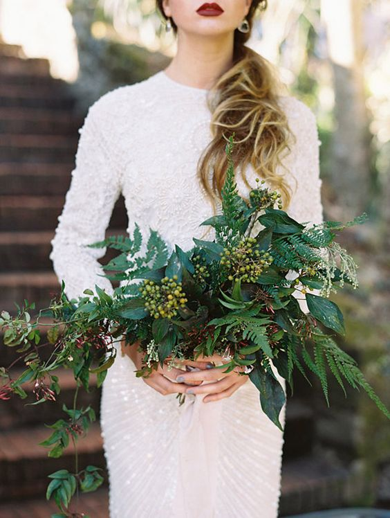 greenery bouquet